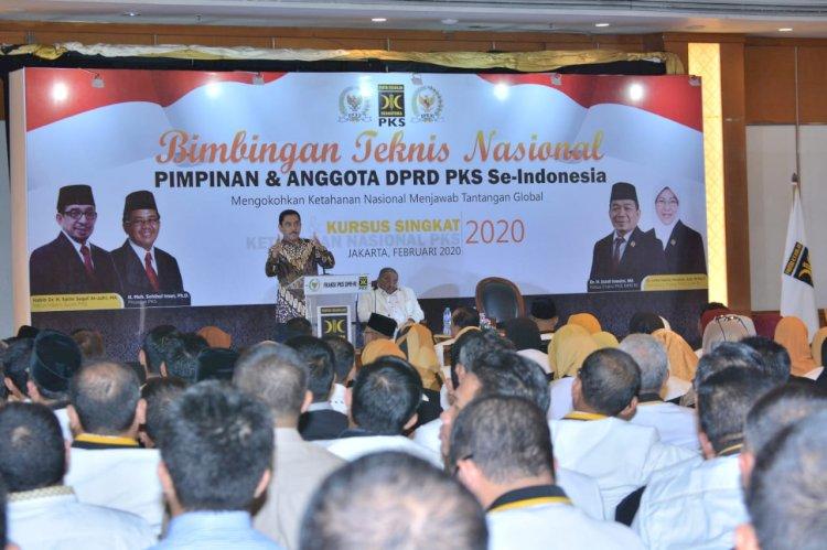 Bekali Fraksi PKS dalam Kursus Singkat Ketahanan Nasional, Kepala BNPT Sampaikan Pengetahuan Penanggulangan Terorisme Komprehensif