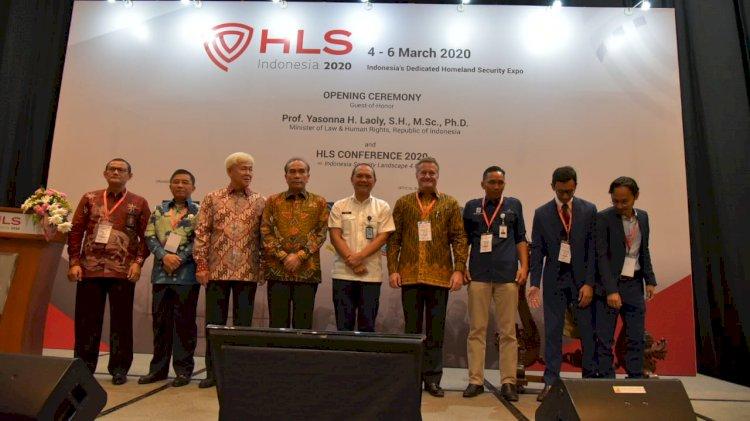 Dukung Inovasi Sebagai Strategi Lawan Terorisme, BNPT Ikut Berpartisipasi dalam Homeland Security (HLS) Indonesia 2020