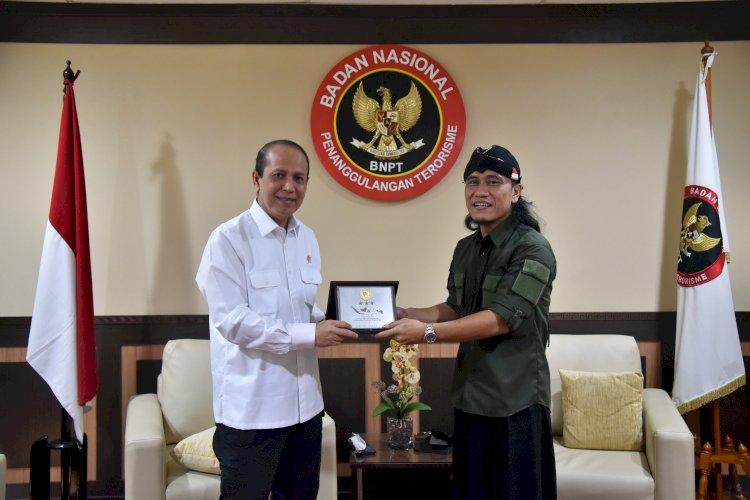 Silaturahmi Kepala BNPT dengan Gus Miftah, Ajak Ulama Persatukan Bangsa Lewat Dakwah Keindonesiaan di Medsos