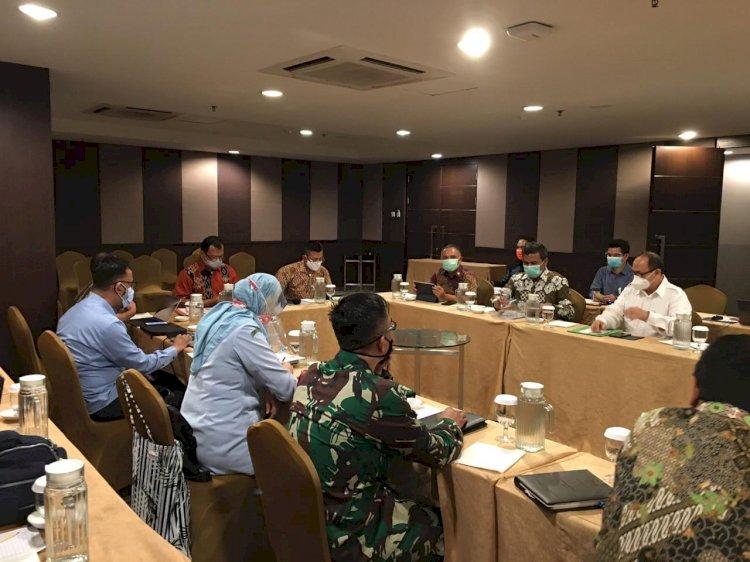 BNPT Gelar Rapat Penyusunan Pedoman Koordinasi Penyediaan Data dan Informasi Dalam Rangka Penyelenggaraan Pusdalsis