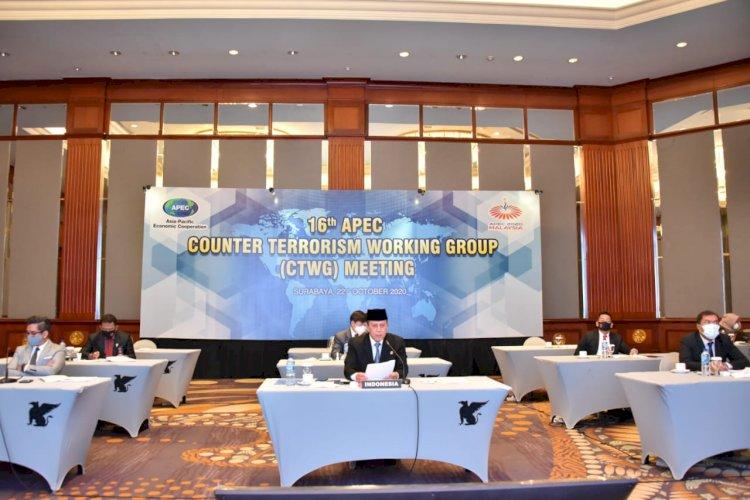 BNPT Imbau Anggota APEC Tingkatkan Kewaspadaan Aksi Terorisme di Masa Pandemi