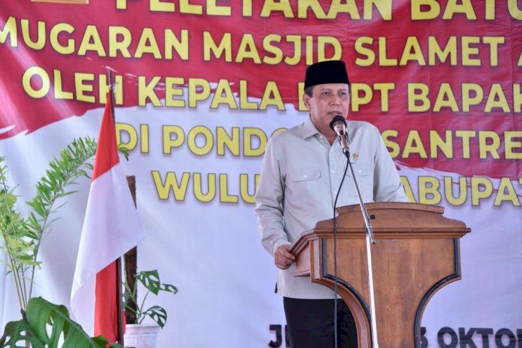 BNPT Jelaskan Masjid Menjadi Benteng Pertahanan dari Paham Radikalisme