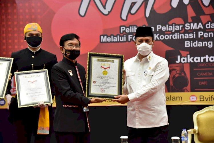 Raih Rekor MURI, BNPT Kuatkan Pendekatan Dengan Generasi Muda Guna Pencegahan Terorism