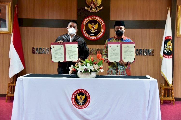 Wujudkan Kesiapsiagaan Nasional, KBPP Polri - BNPT Sepakati Kerja Sama Cegah Terorisme